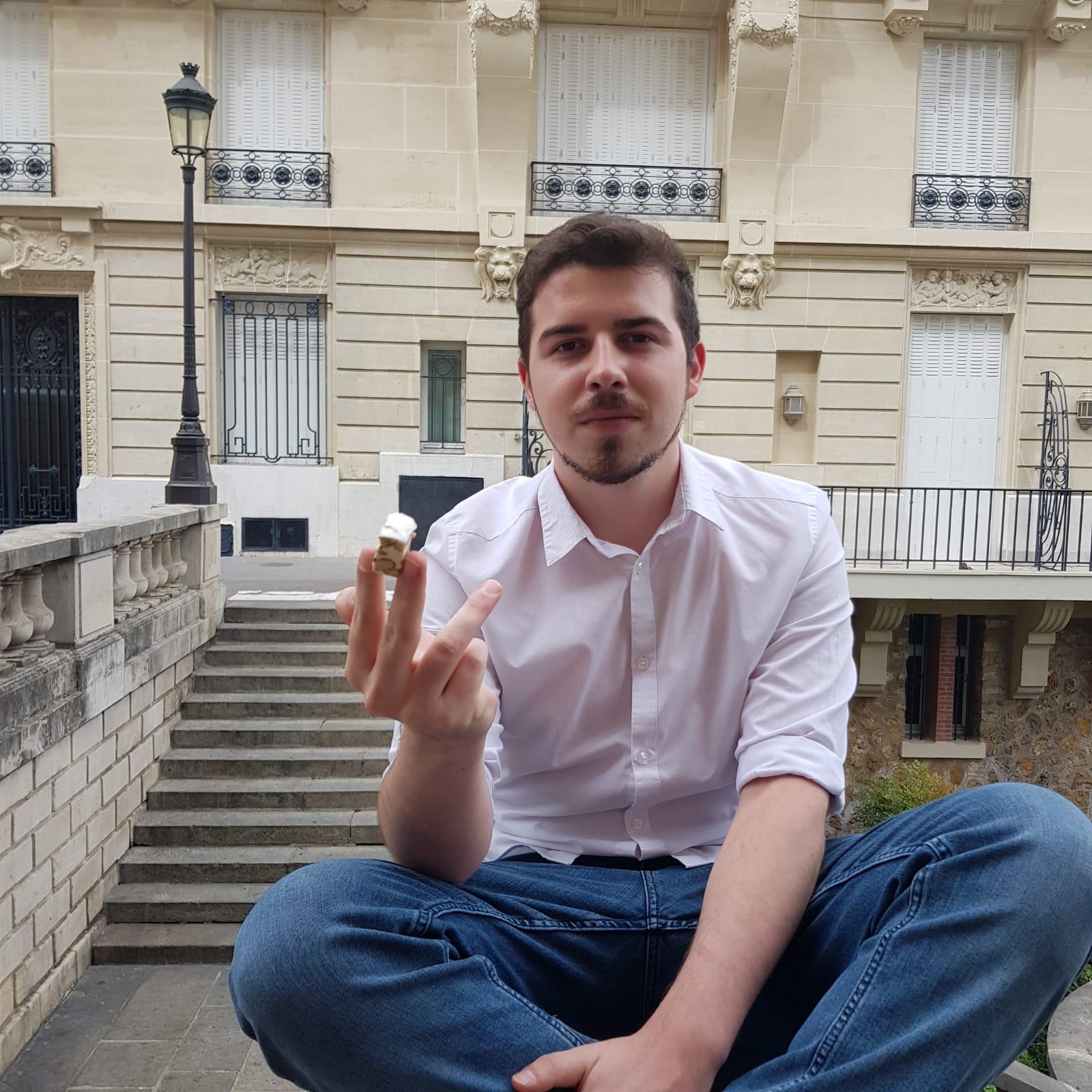 Photo d'équipe Alexis stagiaire Le Bonbon Français