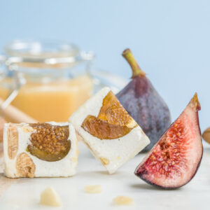 Tendre Nougat de Figues confites Le Bonbon Français