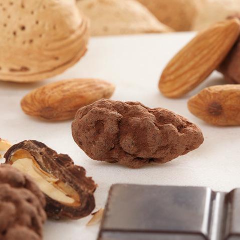 Tentation d'amande au chocolat Le Bonbon Français