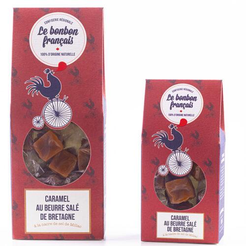 Caramel au beurre salé de Bretagne à la nacre de sel de Millac - Le Bonbon Français