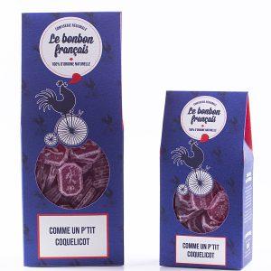 Bonbon d'antan au coquelicot naturel - Le Bonbon Français
