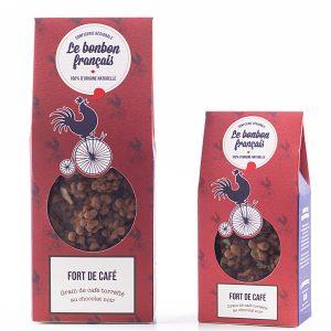 Grain de cafe torréfié au chocolat noir - Le Bonbon Français