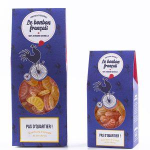 bonbon quartier d'orange et de citron fabrication artisanale le bonbon francais