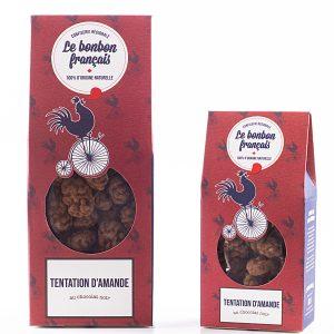 amande enrobé au chocolat noir 70%- amande chocolaté le bonbon francais