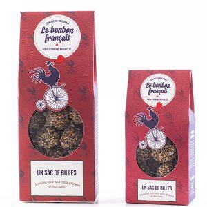 Bonbon au chocolat caramel et au sarrasin - Le Bonbon Français