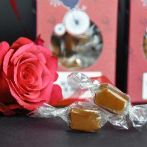 Le Bonbon Francais Caramel Vanille Rose Rouge