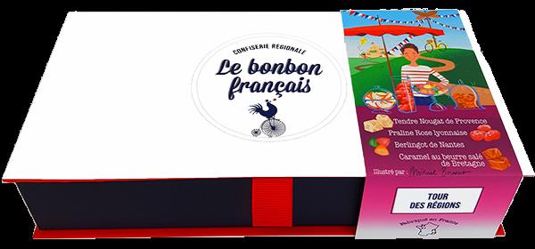Ecrin Dégustation Tour des Régions Le Bonbon Francais